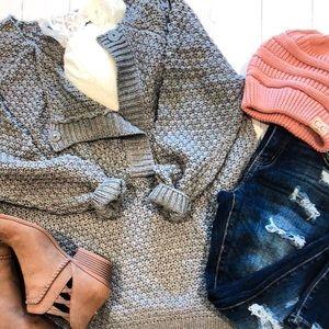 Chill Sweater (gray/cream/black)